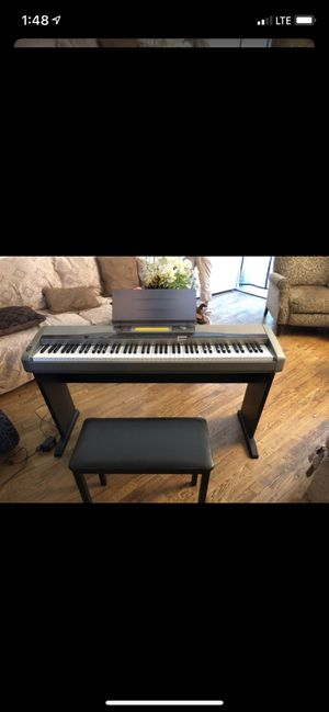 Casio piano for Sale in Fresno, CA