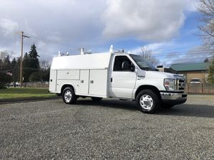2011 Ford E-350 Cargo Van Walk in Utility Body for Sale in Puyallup, WA