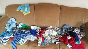 Boy's baby clothes 3-12 months for Sale in Portsmouth, VA