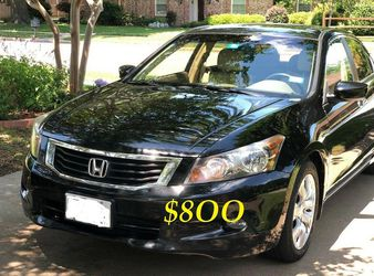 ✅✅💲8OO URGENT Selling By Owner 2OO9 💚 Honda Accord Sedan EX-L Runs and drives great.Clean title! Mechanically perfect! very strong V6.🟢🟢 for Sale in New York,  NY