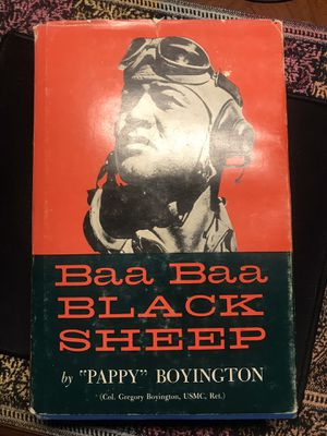 Baa Baa Black Sheep- Hardcover, great dust jacket for Sale in Bradenton, FL