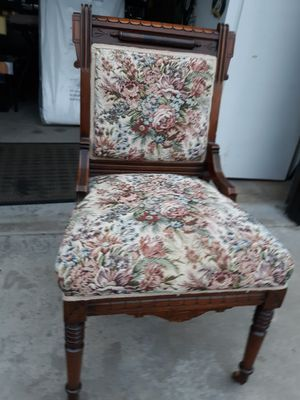 Antique parlor chair for Sale in Denver, CO