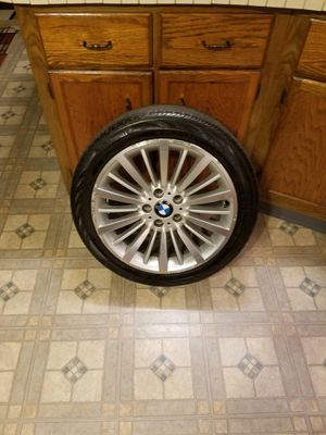 "18"" BMW Luxury Line Wheels and Tires set of 4 for Sale in Saratoga Springs, NY"