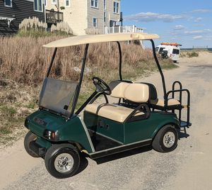 Club Car 48v Electric Golf Cart with New Batteries for Sale in Virginia Beach, VA