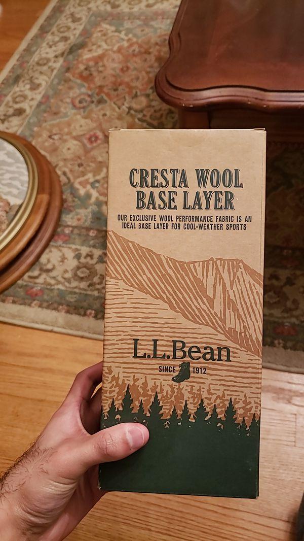 L.L. Bean wool leggings