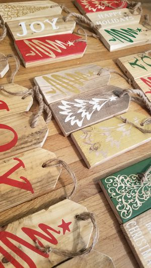 8 inch Solid Wood Holiday Decor for Sale in Bakersfield, CA