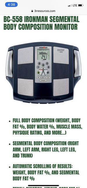 Ironman scale for Sale in San Antonio, TX