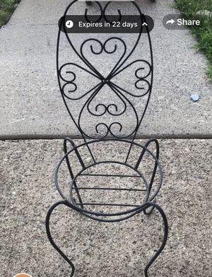 Chair pot/plant holder for Sale in Bensalem, PA