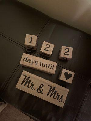 Wedding count down for Sale in Wichita, KS