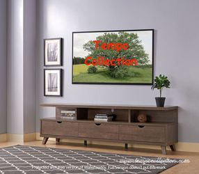 Mirage TV Stand up to 85in TVs, Walnut Oak, SKU#192486 for Sale in Huntington Beach,  CA