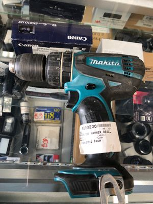 Makita 18v Hammer drill for Sale in San Diego, CA