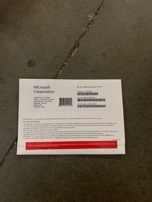 WINDOWS 10 PRO 64 Bit DVD OEM KEY license for Sale in Walnut, CA