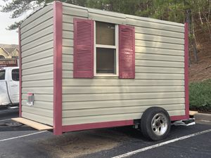 Custom Built Mobile Tiny House for Sale in Roswell, GA