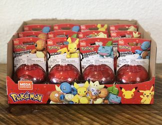 Mega Construx 25th Anniversary Pokemon Figure & Poke Ball FULL Set (6) for Sale in Bellflower,  CA