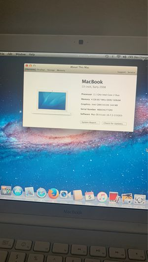 13 inch MacBook 2008 for Sale in Los Angeles, CA