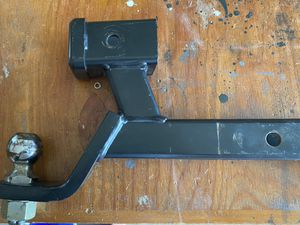 Double hitch ball & receiver for Sale in Tacoma, WA