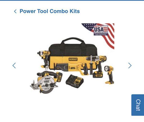 Power Tool Combo Kit