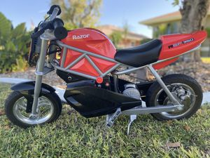 Razor RSF350 Youth Motorcycle Electric Bike for Sale in Cape Coral, FL