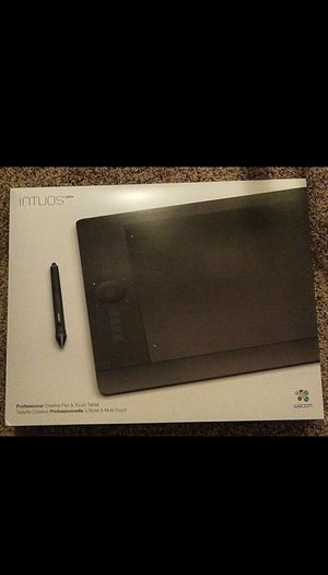 Large wacom intuos pro for Sale in Apex, NC