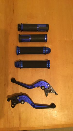Motorcycle grips and levers for Sale in Walkersville, MD
