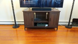 Spacious, Sleek, Traditional TV Stand and Entertainment Center - $60 for Sale in Annapolis, MD