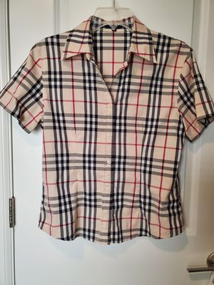 Authentic Short Sleeve Burberry Button Up for Sale in Bothell, WA