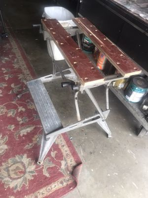 Black and Decker portable work center and vice for Sale in Huntington Beach, CA