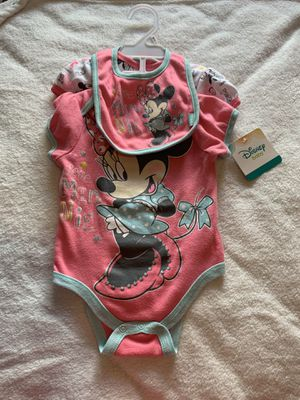 Baby girl new clothes blankets shoes and car seat strap covers everything new for Sale in San Bernardino, CA