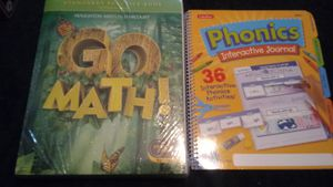 New Common core math 2 sealed books n phonics for Sale in Metairie, LA
