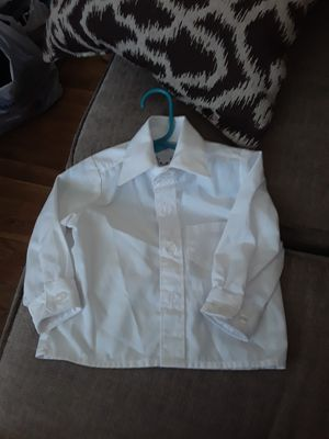 New boy's white button up dress shirt for Sale in Federal Heights, CO