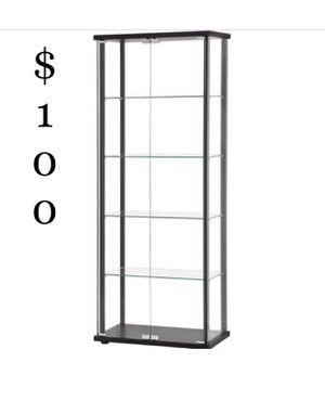 Glass Curio Cabinet for Sale in Dallas, TX