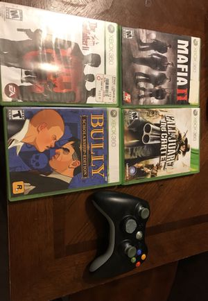 4. Xbox 360 games and 1 control for Sale in Las Vegas, NV