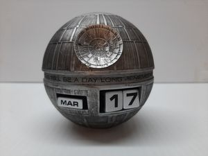 Star Wars Death Star Perpetual Calendar for Sale in Converse, TX