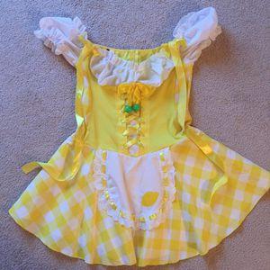 Costume women's dress lemons m/l for Sale in Lakewood, WA