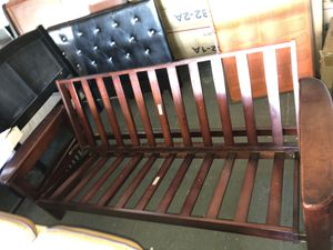 Wood futon for Sale in Los Angeles, CA