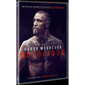 Conor McGregor: Notorious DVD. Ship only🚚 for Sale in Dyersburg, TN