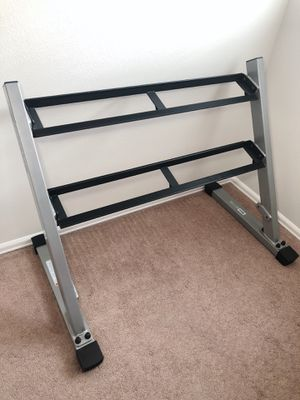 Nautilus Fitness Dumbbell 2 Tier Rack NT-1710 for Sale in Boulder, CO
