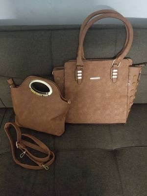 Leather hand bag set of two for Sale in Baltimore, MD