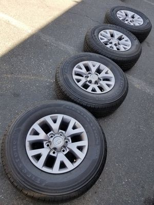 2019 TACOMA PRERUNER RIMS AND TIRES for Sale in Fontana, CA