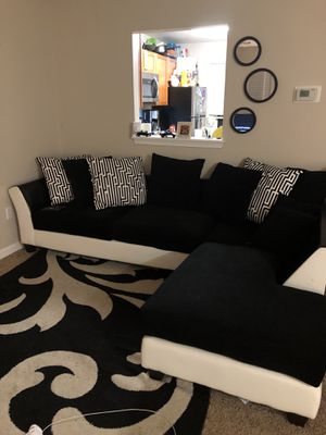 Black & White Sectional for Sale in Potomac, MD