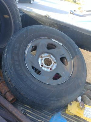 Ford F-150 rim and tire just one not a set in good shape ready to install 5 lug for Sale in Tampa, FL