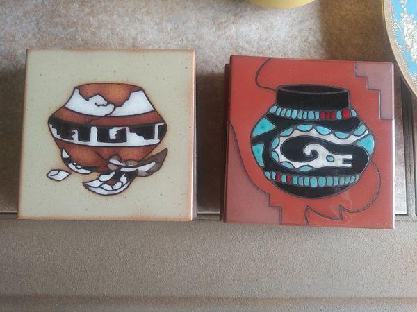 Cleo Tiessedre native ceramic art tiles