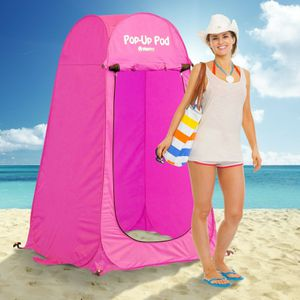 NEW Outdoor Changing Room Beach Shower Restroom Pink Portable Pop Up Tent Camping Hiking for Sale in Las Vegas, NV