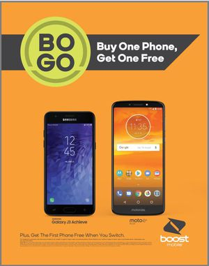 Bogo. Switch one line and get another line and two free phones on us. for Sale in San Antonio, TX