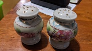 Porcelain floral salt and pepper shakers for Sale in CORNWALL Borough, PA
