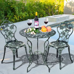 NEW Aluminum Rose Furniture Set For Outdoor Patio Home Decor for Sale in Los Angeles, CA