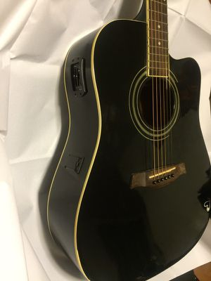Ibanez acoustic electric guitar ready to use for Sale in Denver, CO