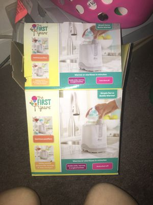 The First Years Bottle Warmer & Sanitizer for Sale in Baltimore, MD