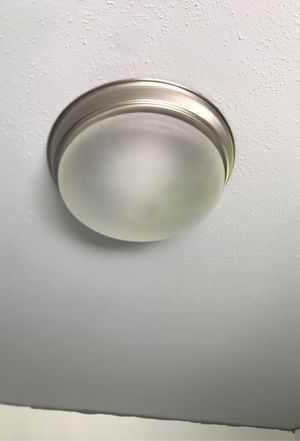 2 Ceiling light fixture 💡 for Sale in Tacoma, WA