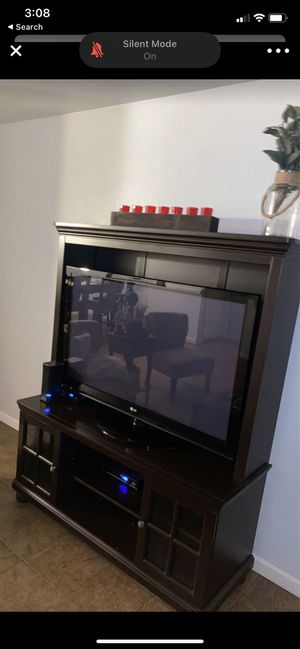 Entertainment center / Tv Stand for Sale in Delano, CA